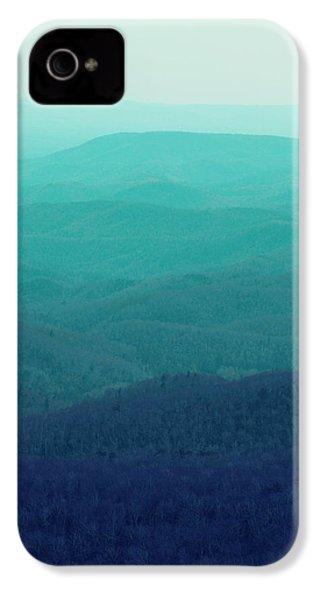 Appalachian Mountains IPhone 4 Case by Kim Fearheiley