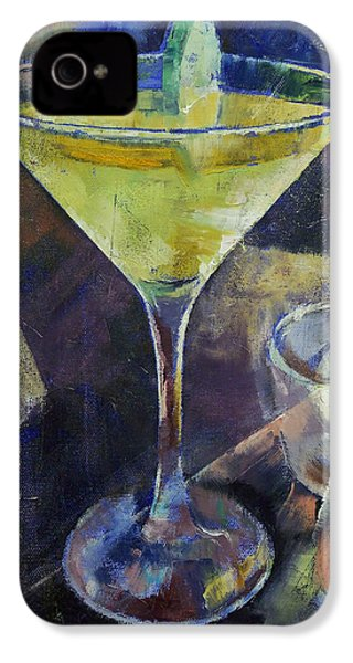 Appletini IPhone 4 / 4s Case by Michael Creese