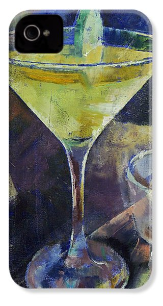 Appletini IPhone 4 Case by Michael Creese