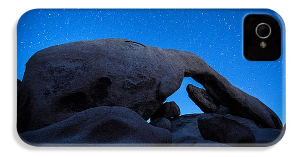 Arch Rock Starry Night 2 IPhone 4 Case by Stephen Stookey