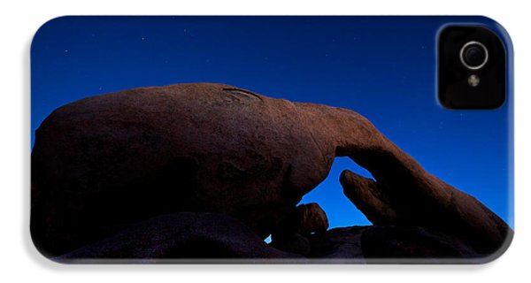 Arch Rock Starry Night IPhone 4 Case by Stephen Stookey