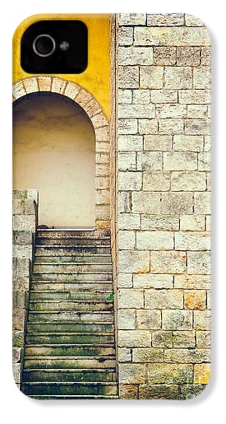 IPhone 4 Case featuring the photograph Arched Entrance by Silvia Ganora