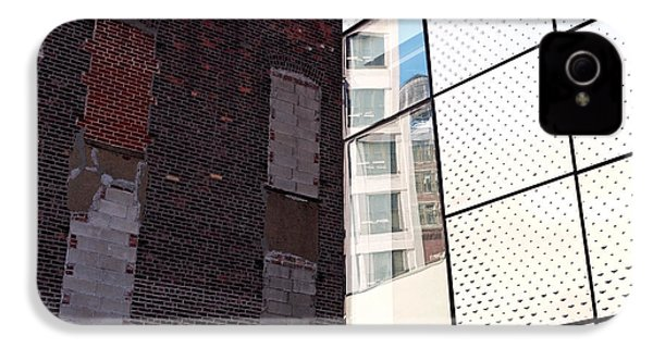 Architectural Juxtaposition On The High Line IPhone 4 Case by Rona Black