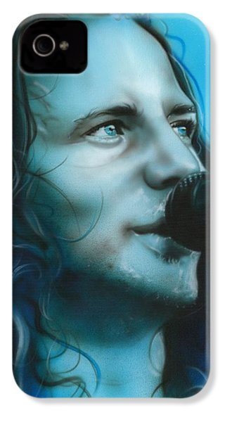 Eddie Vedder - ' Arms Raised In A V ' IPhone 4 Case
