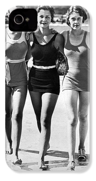 Army Bathing Suit Trio IPhone 4 / 4s Case by Underwood Archives