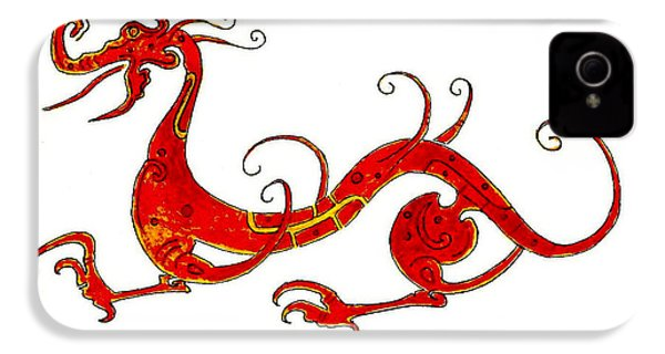 Asian Dragon IPhone 4 / 4s Case by Michael Vigliotti