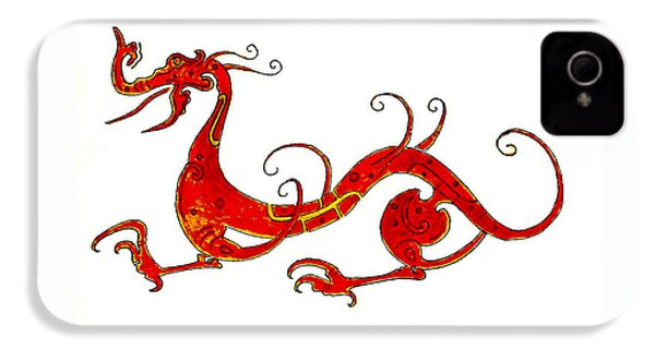 Asian Dragon IPhone 4 Case by Michael Vigliotti