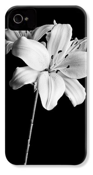 Asian Lilies 2 IPhone 4 / 4s Case by Sebastian Musial