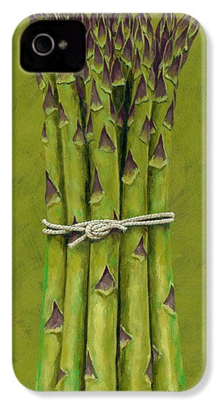Asparagus IPhone 4 Case by Brian James