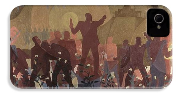 Aspects Of Negro Life IPhone 4 Case by New York Public Library/aaron Douglas