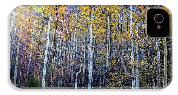 IPhone 4 Case featuring the photograph Aspen Sunset by Karen Shackles