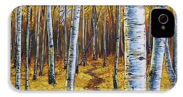 Aspen Trail IPhone 4 Case by Aaron Spong