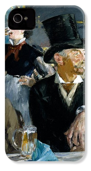 At The Cafe Concert IPhone 4 Case by Edouard Manet