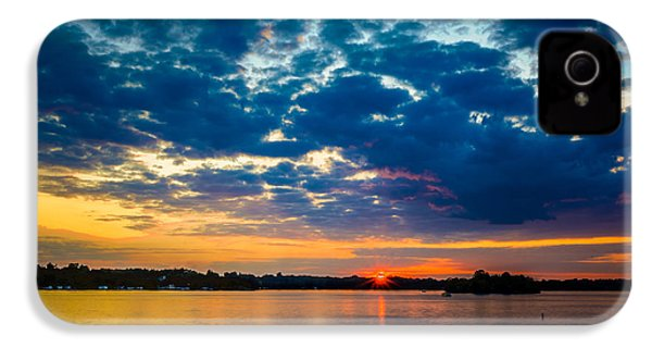 August Sunset Over Lake Nagawicka IPhone 4 Case