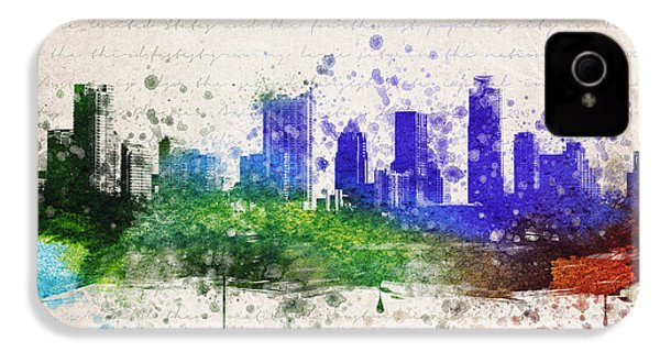 Austin In Color IPhone 4 / 4s Case by Aged Pixel