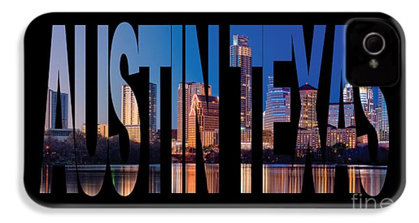 Austin Texas IPhone 4 / 4s Case by Marvin Blaine