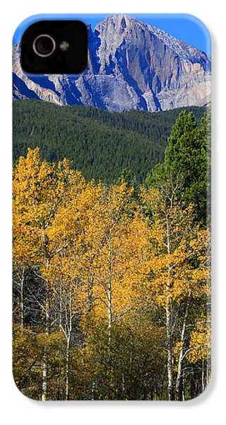 Autumn Aspens And Longs Peak IPhone 4 Case by James BO  Insogna