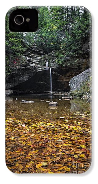 Autumn Falls IPhone 4 / 4s Case by James Dean