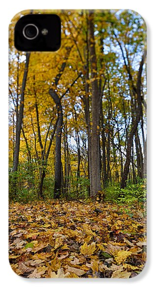 IPhone 4 Case featuring the photograph Autumn Is Here by Sebastian Musial