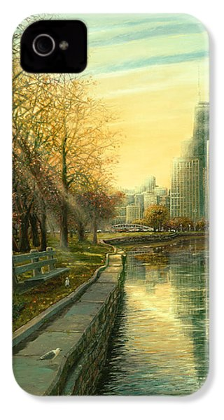 Autumn Serenity II IPhone 4 / 4s Case by Doug Kreuger