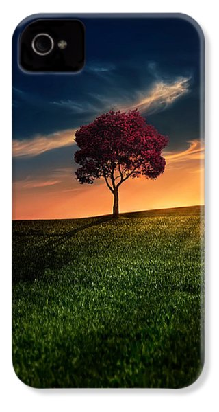 Awesome Solitude IPhone 4 Case by Bess Hamiti
