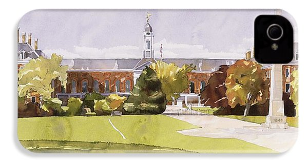The Royal Hospital  Chelsea IPhone 4 Case by Annabel Wilson