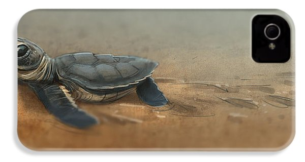 Baby Turtle IPhone 4 / 4s Case by Aaron Blaise