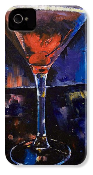 Backstage Martini IPhone 4 / 4s Case by Michael Creese