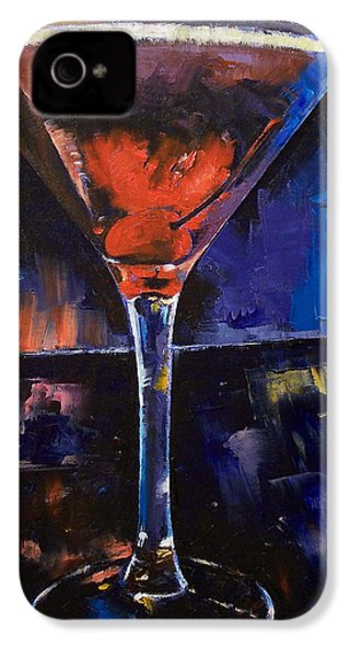 Backstage Martini IPhone 4 Case by Michael Creese