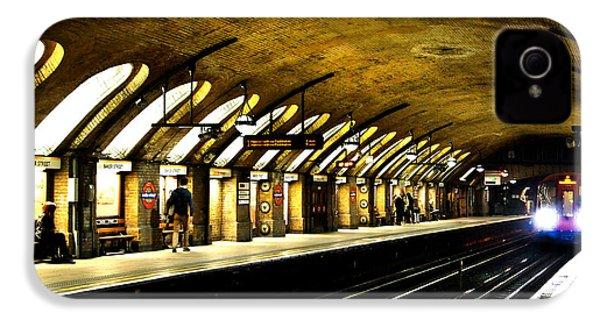 Baker Street London Underground IPhone 4 Case by Mark Rogan