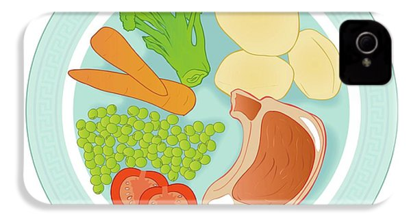 Balanced Meal IPhone 4 Case by Jeanette Engqvist