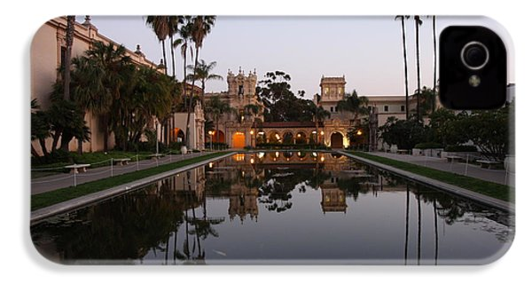 IPhone 4 Case featuring the photograph Balboa Park Reflection Pool by Nathan Rupert