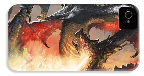 Balerion The Black IPhone 4 Case