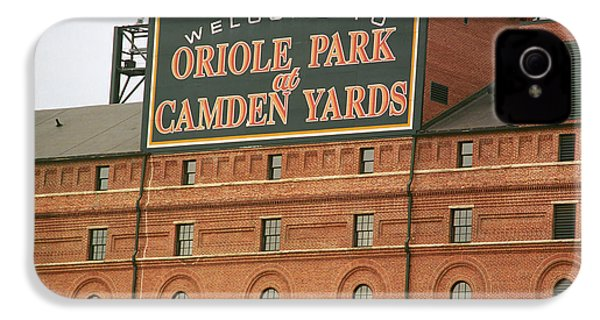 Baltimore Orioles Park At Camden Yards IPhone 4 Case by Frank Romeo