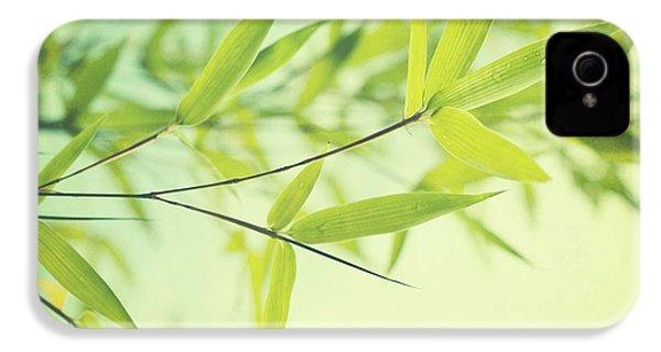 Bamboo In The Sun IPhone 4 Case by Priska Wettstein