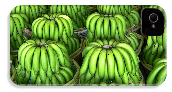 Banana Bunch Gathering IPhone 4 / 4s Case by Douglas Barnett