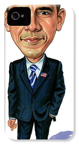 Barack Obama IPhone 4 Case by Art