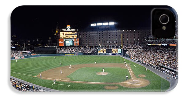 Baseball Game Camden Yards Baltimore Md IPhone 4 Case