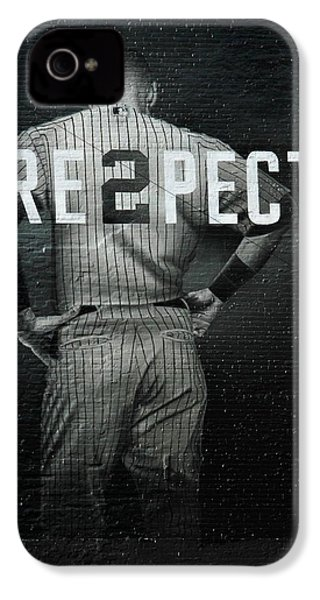Baseball IPhone 4 Case by Jewels Blake Hamrick
