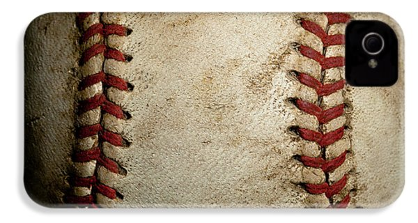 Baseball Seams IPhone 4 Case by David Patterson