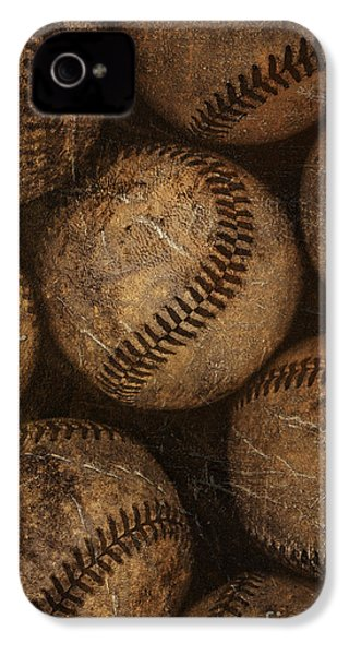Baseballs IPhone 4 Case