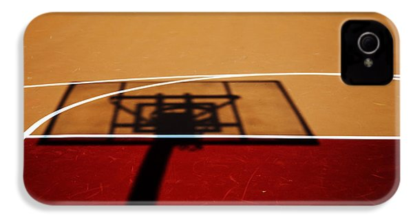 Basketball Shadows IPhone 4 Case by Karol Livote
