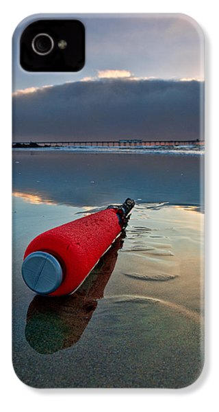 Batter-ed By The Sea IPhone 4 Case by Peter Tellone