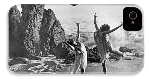 Beach Ball Dancing IPhone 4 Case by Underwood Archives