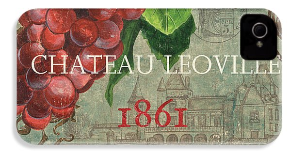 Beaujolais Nouveau 1 IPhone 4 Case by Debbie DeWitt