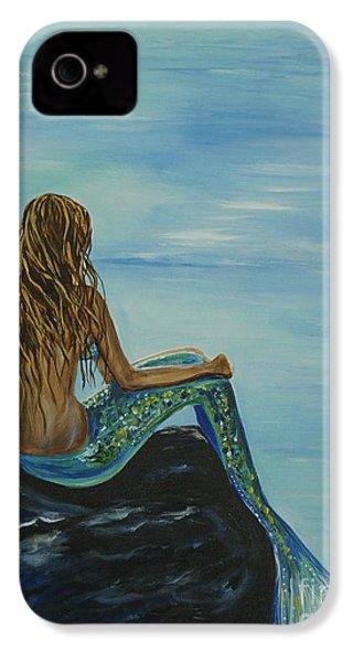 Beautiful Magic Mermaid IPhone 4 Case