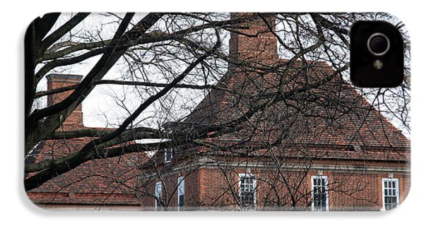The British Ambassador's Residence Behind Trees IPhone 4 / 4s Case by Cora Wandel