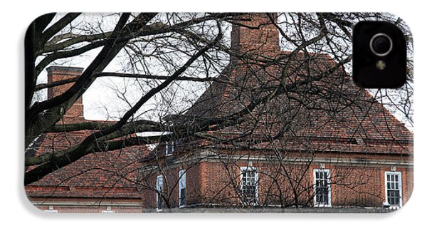 The British Ambassador's Residence Behind Trees IPhone 4 Case by Cora Wandel