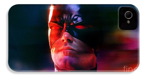 Ben Affleck Daredevil IPhone 4 Case by Marvin Blaine