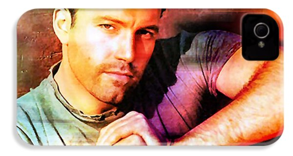 Ben Affleck IPhone 4 Case by Marvin Blaine